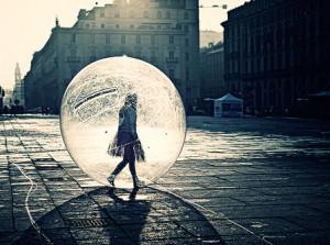 Saindo da bolha