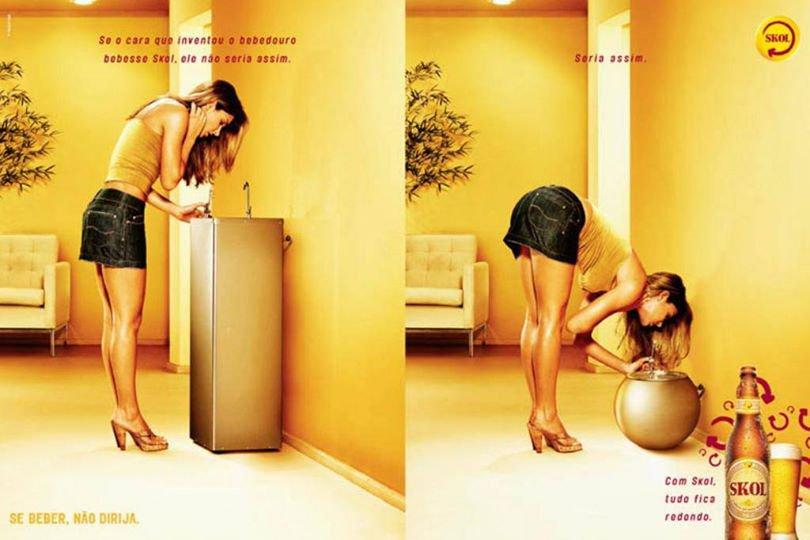 Campanha publicitária idiota
