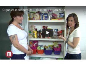 Vídeo novo: Organize e economize!