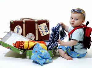 Dicas para viajar com crianças pequenas