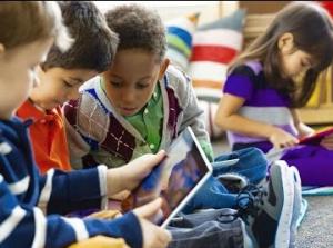 As crianças e o uso da tecnologia