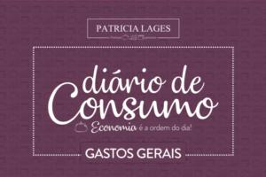 Novidade: conheça o Diário de Consumo!