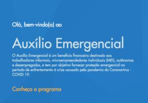 Aplicativo e site para receber auxílio emergencial são lançados